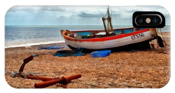 Aldeburgh Fishing Boat IPhone Case