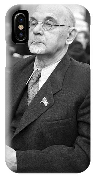 Aleksandr Arbuzov, Soviet Organic Chemist Phone Case by Ria Novosti