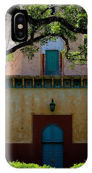 Alhambra Water Tower Doors IPhone Case