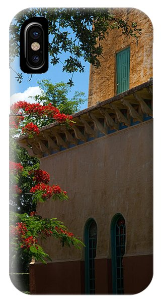 Alhambra Water Tower Windows And Door IPhone Case