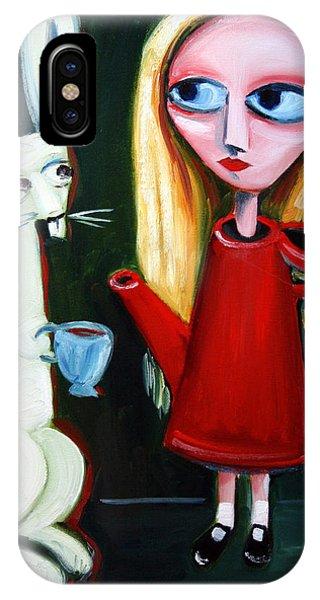 Alice A Tea Pot IPhone Case