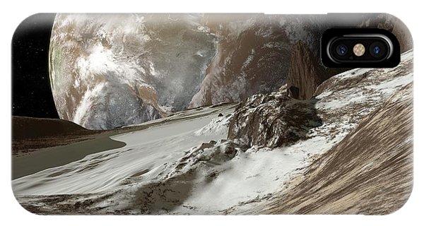 Alien Planets, Artwork Phone Case by Detlev Van Ravenswaay