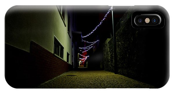 Alley With Lights IPhone Case
