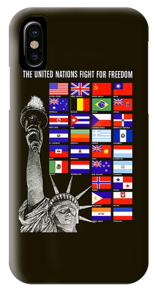 Allied Nations Fight For Freedom IPhone Case