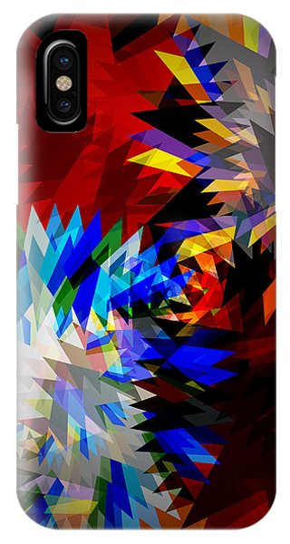 Meshed iPhone Case - Allure Blade by Atiketta Sangasaeng