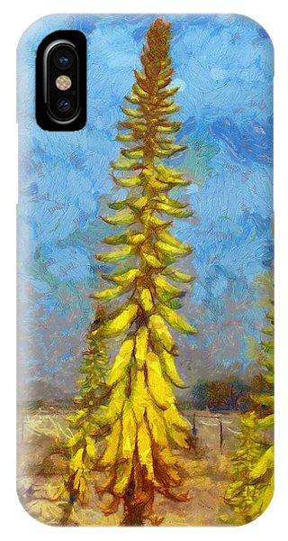 Aloe Vera Flowers IPhone Case