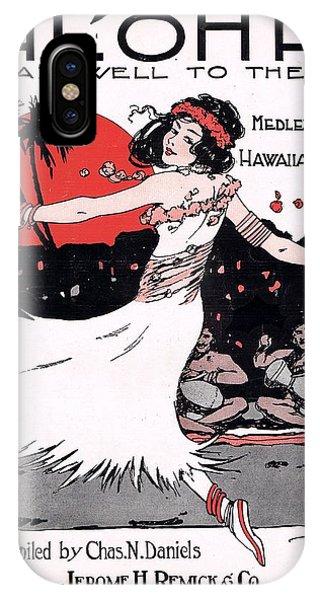 Hawaii iPhone Case - Aloha by Mel Thompson