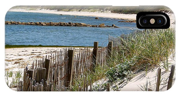 Along The Shoreline Of Brewster Beach IPhone Case