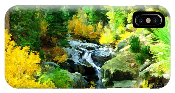 Alpine Falls IPhone Case