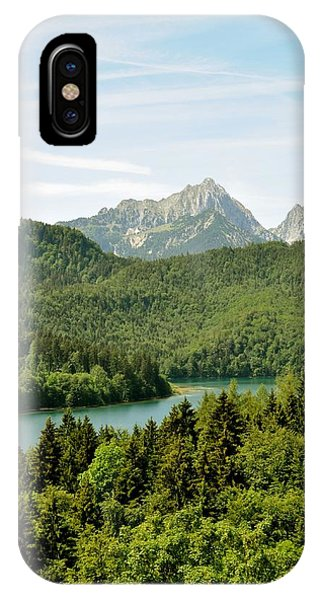 Alps From Bavaria IPhone Case
