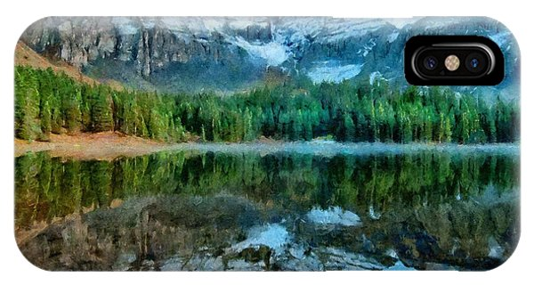 Alta Lakes Reflection IPhone Case