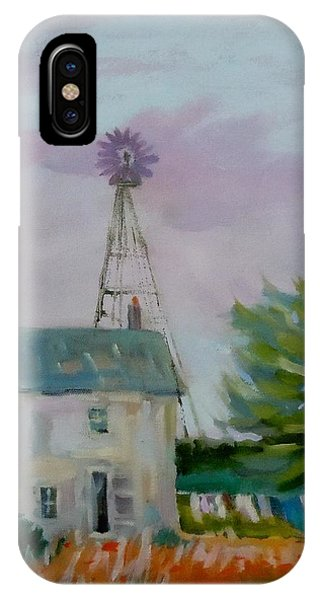 Amish Farmhouse Phone Case by Francine Frank