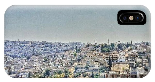 View iPhone Case - Amman Down Town, #downtown #city by Abdelrahman Alawwad