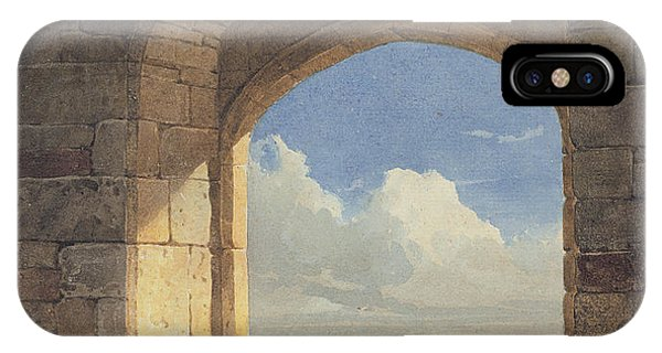 Tidal iPhone Case - An Arch At Holy Island - Northumberland by John Varley