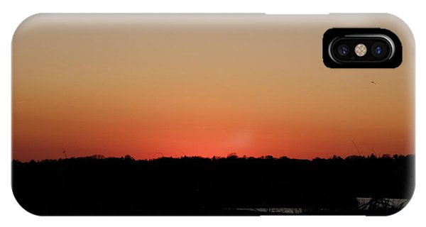 An Autumn Sunset Phone Case by Kim Galluzzo Wozniak