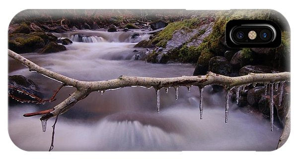 IPhone Case featuring the photograph An Icy Flow by Gavin Macrae
