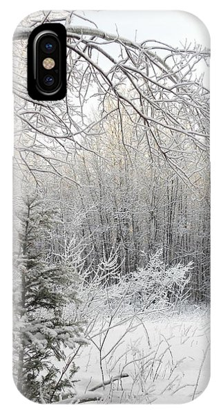 And More Snow IPhone Case