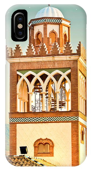 Andalucian Minaret IPhone Case