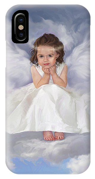 Angel 2 IPhone Case