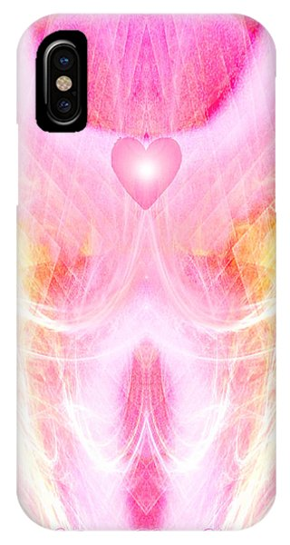 Angel Of Divine Love IPhone Case