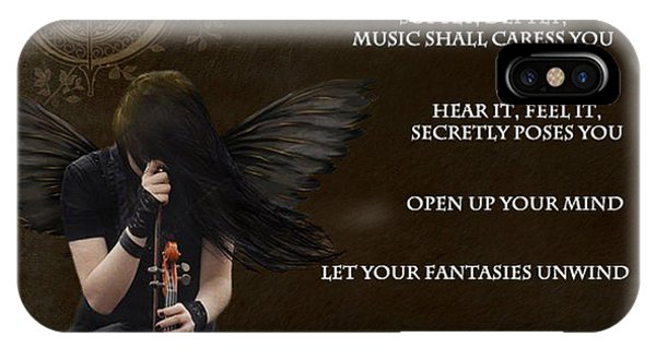 Angel Of Music IPhone Case