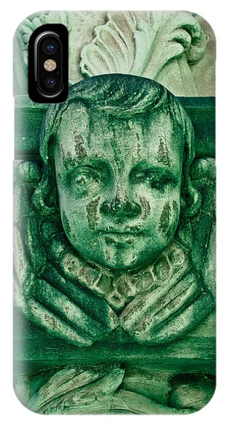 Angel Statue IPhone Case
