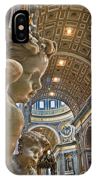 Angels At The Vatican 2 IPhone Case