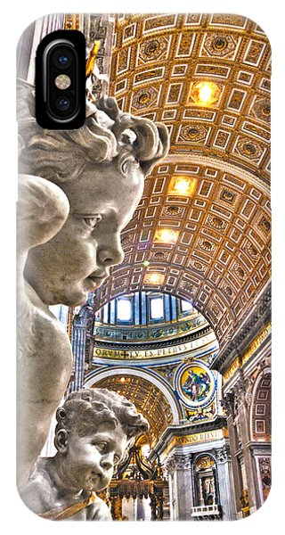 Angels At The Vatican IPhone Case