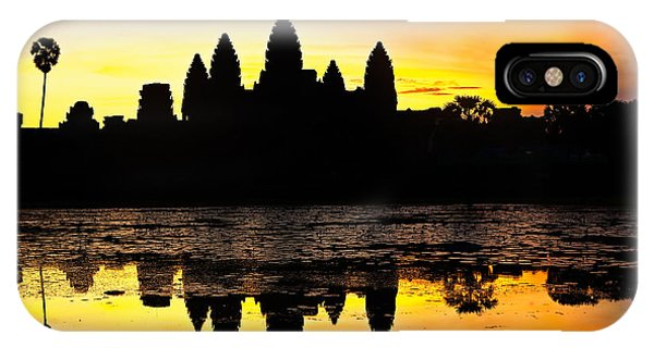 Angkor Wat At Sunrise IPhone Case