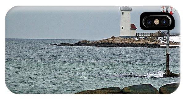Annisquam Lighthouse IPhone Case