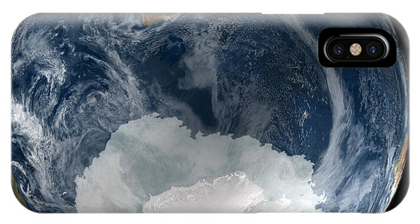 Antarctic Ice Sheet Maximum, 2005 Phone Case by Nsidcnasa