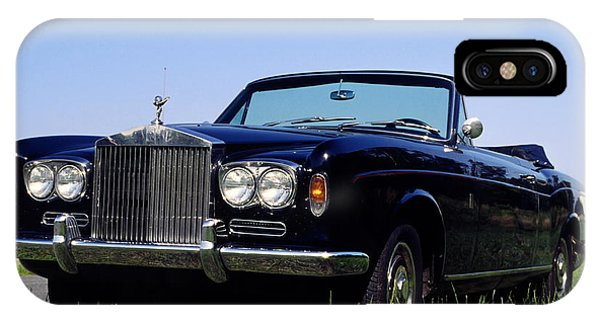 Antique Rolls Royce IPhone Case