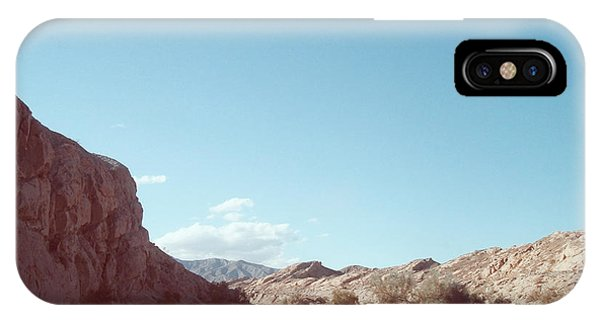 Death Valley iPhone Case - Anza Borrego Mountains by Naxart Studio