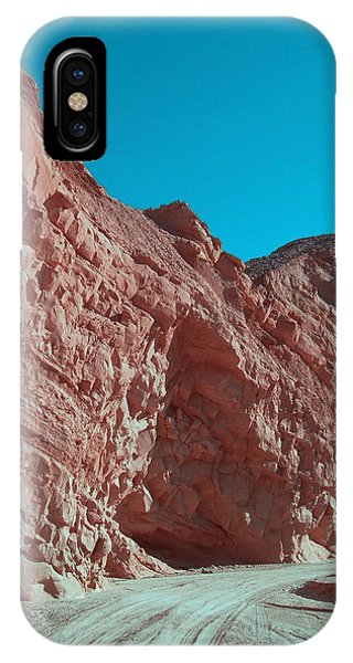 Death Valley iPhone Case - Anza Borrego Trail by Naxart Studio