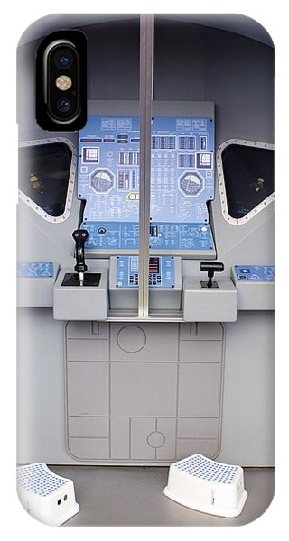 Apollo Lunar Module Cabin Mock-up Phone Case by Mark Williamson