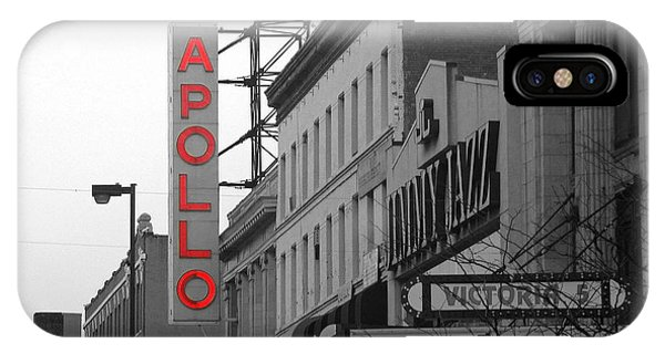 Apollo Theater In Harlem New York No.1 IPhone Case
