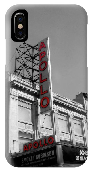 Apollo Theater In Harlem New York No.2 IPhone Case