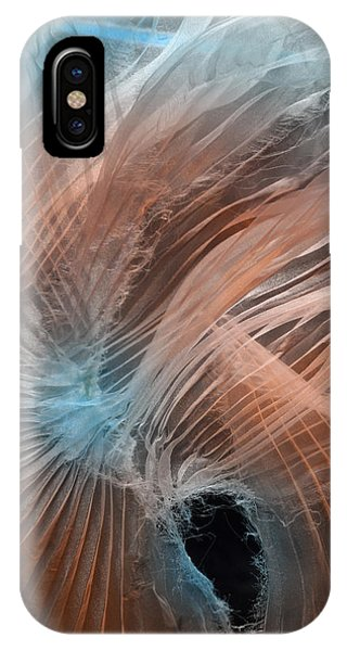 Aqua Amber Texture IPhone Case