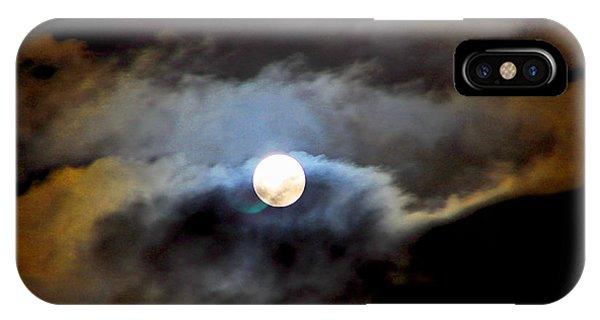 Aquarius Full Moon IPhone Case