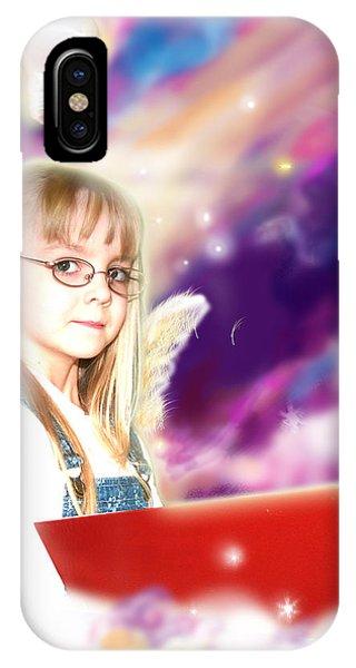 Archer.angelic IPhone Case