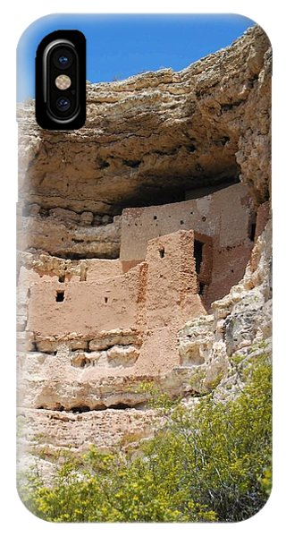 IPhone Case featuring the photograph Arizona Cliff Dwellings by Judy Hall-Folde