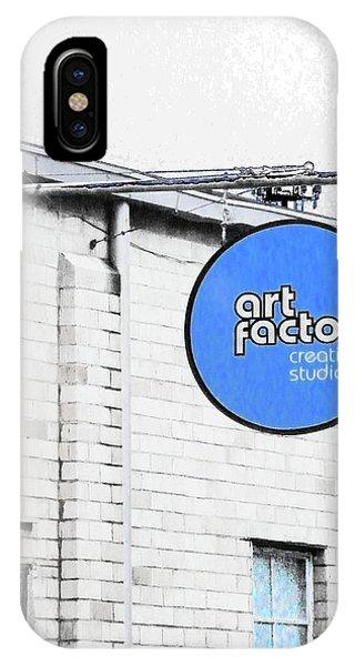 Art Factory IPhone Case