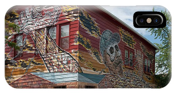 Art House South Chicago Mural IPhone Case