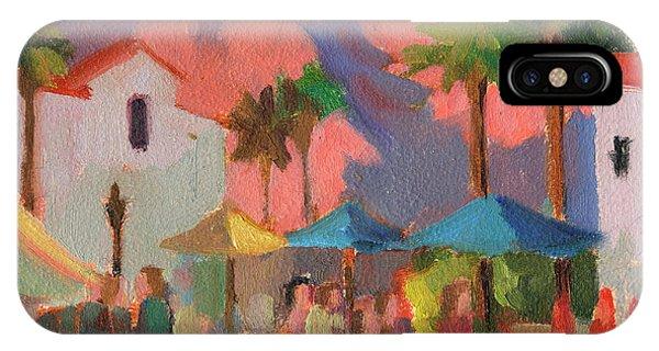 Bear Creek iPhone Case - Art Under The Umbrellas by Diane McClary