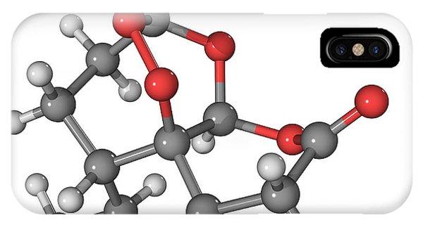 Artemisinin Malaria Drug Molecule Phone Case by Laguna Design