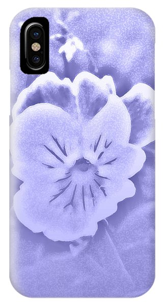 Artistic Pansy IPhone Case