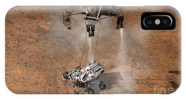 Achievement iPhone Case - Artists Concept Of Nasas Curiosity by Stocktrek Images