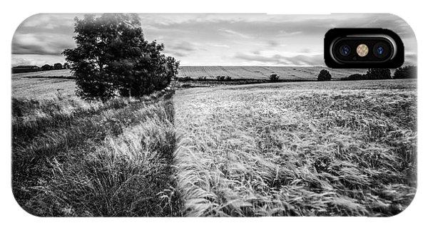 Loch Ard iPhone Case - As The Wind Blows by John Farnan