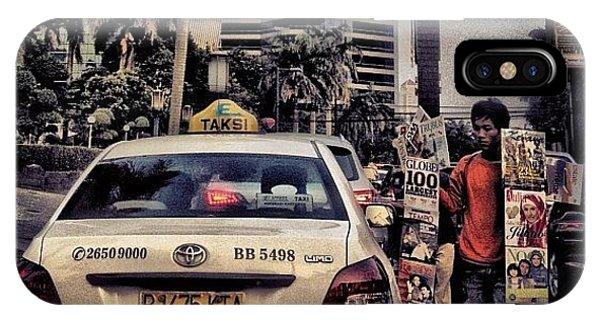 Cause iPhone Case - Asongan #social #traffic #jakarta by Venda Aryadi
