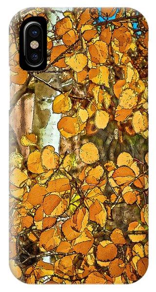 Aspens Gold IPhone Case